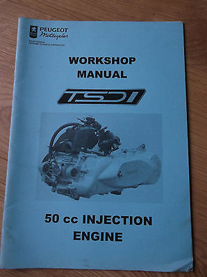 peugeot motorcycle 50 cc tsdi engine workshop manual