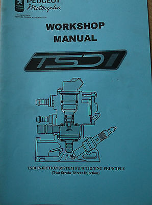 Peugeot motorcycle workshop manual, tsdi injection