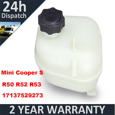 For Mini Cooper S R52 R53 Radiator Coolant Expansion Header Tank Bottle W/ Cap