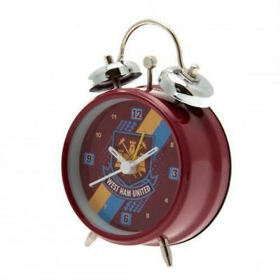 WHOLESALE! Job Lot 40 X West Ham United Football Alarm Clocks - Resell for Profi