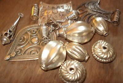 Job Lot of Scrap Silver Some Wearable Total Weight 197.7 Grms