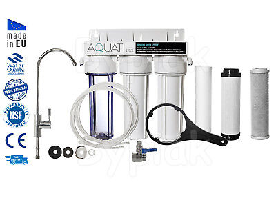 Luxury Home Under Sink Water Purifier and Softener Filter Kit – Salt Free