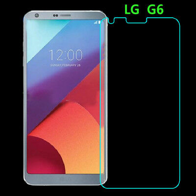 9H Tempered Glass Screen Protector Guard Shield Saver Armor Cover For LG G6