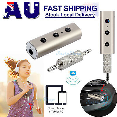 3.5mm Wireless Bluetooth4.2 AUX Audio Stereo Music Home Car Receiver Adapter Mic