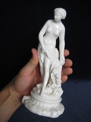 Antique Continental Porcelain Classical Figure, Marked