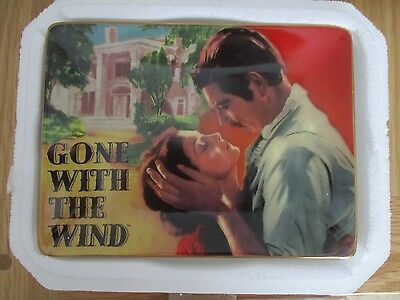 "Gone With The Wind ""The Devotion""  Movie of the Century Porcelain Plate G.W.T.W."