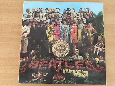 Sgt Pepper Singapore First Pressing