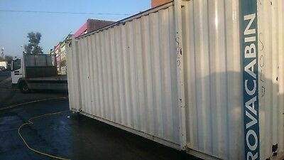 20ft x 8ft steel anti vandal Storage Container