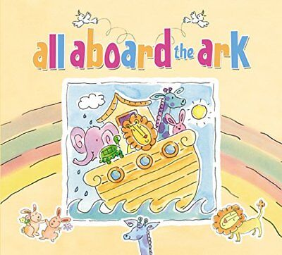 All Aboard the Ark (Board Book),BB,Zondervan - NEW