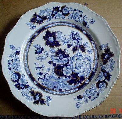 Masons Blue And White Dinner Plate SAPPHIRE