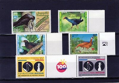 New Caledonia various Bird issues mixed MINT NH/ Mtd. MINT