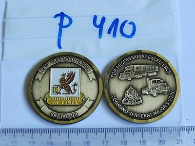 Medaille USA Commander Coin 28.th Transpotation Btl 1 Stück (P410-)