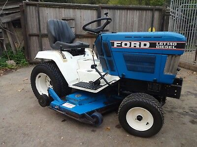 ford diesel ride on mower, mid mounted 48 inch  cutting deck,  compact tractor