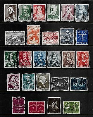 NETHERLANDS - mixed collection, 1933-1945