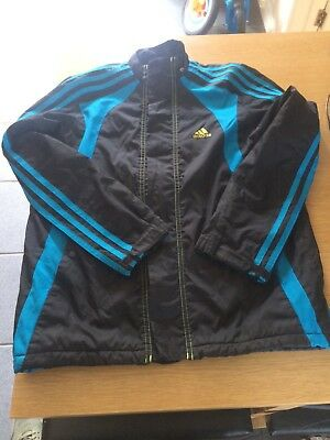 kids adidas padded jacket 11-12yrs good condition