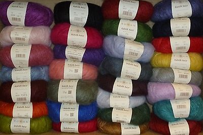 ROWAN Kidsilk Haze x 25g ~ Choose Colour ~ 70% Mohair, 30% Silk ~ over 30 shades