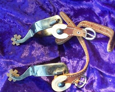 Pair of Western style spurs