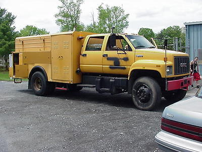 1995 Chevy Topkick Crew cab Caterpillar Allison Automatic
