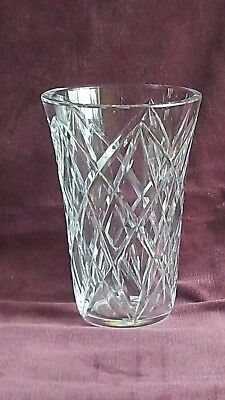 French Vintage St Louis Crystal Beautiful Quality Vase