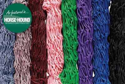 New X 2 ** Two ** Cottage Craft ** Pink / Grey 2 Tone Extra Large Haylage Nets