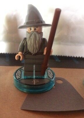 Lego Dimensions Gandalf Character Game Tag Plus Minifigure. New Never Used.