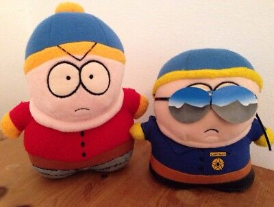Cartman South Park Soft Toy Police Officer Limited Edition & beannie base toy