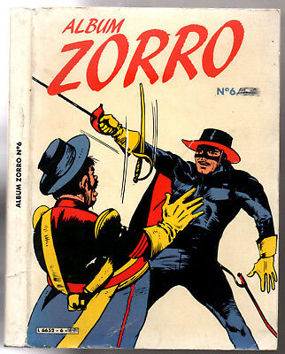 -*- ALBUM ZORRO n°6 -*- 1983 greantori