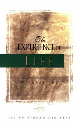 Experience of Life,PB,Witness Lee - NEW