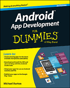 Android App Development for Dummies 3rd Edition,PB,Michael Burton - NEW