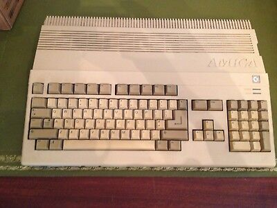 Amiga A500 Plus Computer with A520MOD and lots of games.