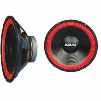 "Karma Red 15-40 450W Woofer x2 Coppia (pair)  14"" / 35 cm"