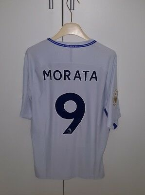 Maglia Chelsea Player Issue,morata Premier League Shirt Camiseta No Match Worn