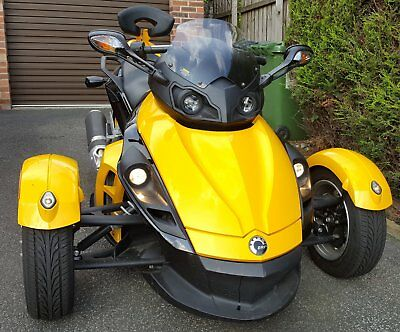 Can-Am Spyder 2009 Extremely Low Mileage