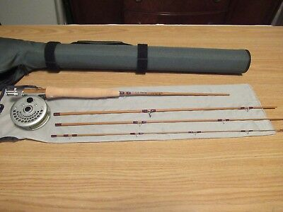 "LL Bean Pocket Water Fly Rod 6' 6"" 3wt 4 piece Combo ""NEW"" Fly Fishing Combo"