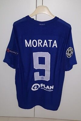 Maglia Chelsea Player Issue Morata,premier League Shirt Maillot No Matc Worn