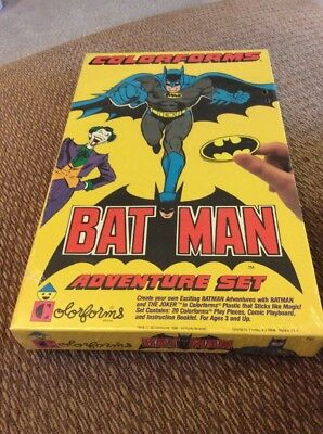 Vintage Colorforms Batman Adventure Set Never Opened