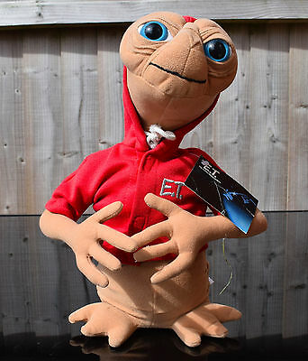 """Universal Studios 12"""" Plush E.T. Extra Terrestrial Plush with Red Hoodie"""