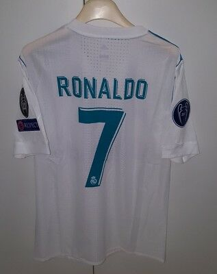 Maglia Real Madrid Player Issue Ronaldo,liga Shirt No Match Worn Camiseta Trikot