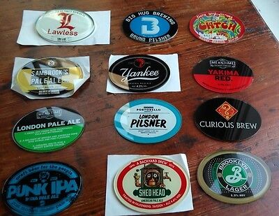 Assorted Branded Beer Pump Tap Badges - Mixture Of New And Used Badges