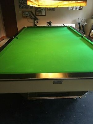 Riley Burway 'Starline' Full Size Snooker Table in Excellant Condition