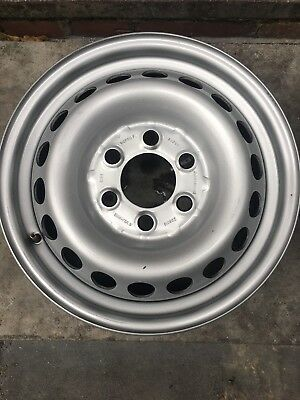 """16"""" Mercedes Sprinter 06-2016 Full Size Steel Wheel 6 Stud Also Fits VW Crafter"""
