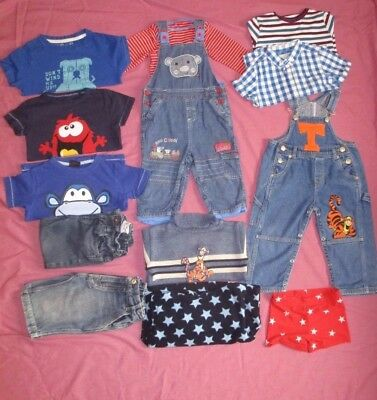 Fab little 13pc baby boys clothes 18-24m bundle (Tshirts/Jeans/Jumpers)