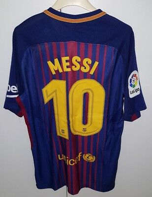 Maglia Barcelona Player Issue Messi,liga Shirt Camiseta Champions No Match Worn