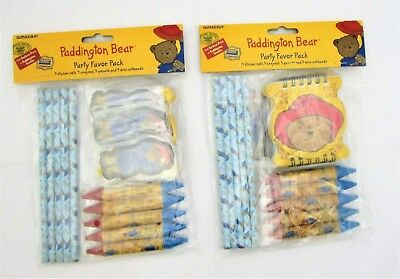 Paddington Bear Party Favor Pack for 10 People - Party Bag Fillers
