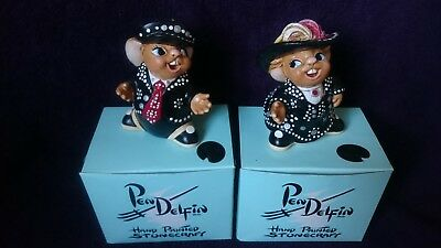 Pendelfin Pearly King and Queen