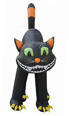 20 foot animated halloween inflatable black cat