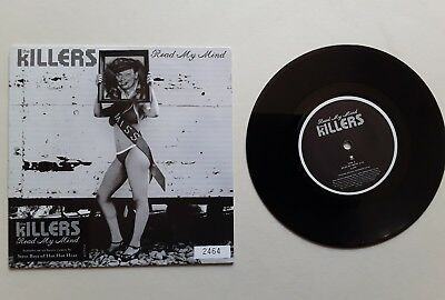 "The Killers Read my mind 7"" single nr mint unplayed vinyl record numbered"