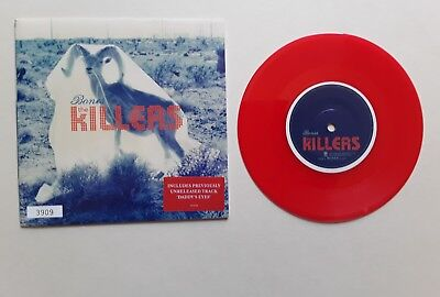 "The Killers Bones 7"" single nr mint unplayed red vinyl record numbered"
