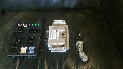 Citroen C4 Coupe 1.4i, petrol 16v ECU kit, from a 2005 car, approx 141,000 miles