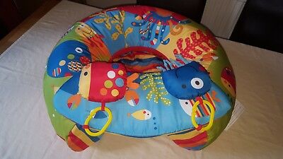 red kite sit me up under the sea inflatable support cushion play tray baby toy